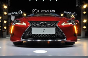 Lexus LC 500 Launch Malaysia Front 2017