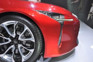 Lexus LC 500 Launch Malaysia 2017, Nose