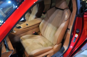 Lexus LC 500 Front Seat Malaysia 2017