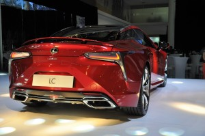 Lexus LC 500 Rear View Malaysia Launch