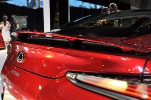 Lexus LC 500 Active Rear Spoiler, Malaysia