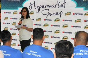 Petron Malaysia Hypermarket Sweep Challenge 2017, Faridah Ali Head of Retail Business