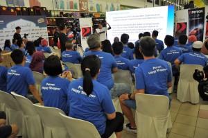 Petron Malaysia Hypermarket Sweep Challenge 2017 At Giant Shah Alam Stadium