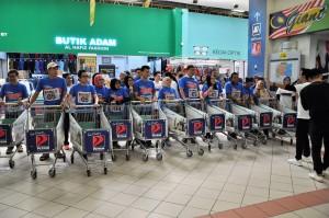 Petron Malaysia Hypermarket Sweep Challenge 2017, Giant Hypermarket Shah Alam Stadium