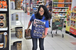 Petron Malaysia Hypermarket Sweep Challenge 2017, Grand Prize Winners Round At Giant Shah Alam Stadium