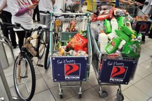 Petron Malaysia Hypermarket Sweep Challenge 2017, Shopping Trolleys, Giant Shah Alam Stadium
