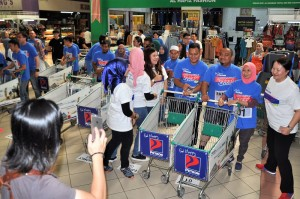Petron Malaysia Hypermarket Sweep Challenge 2017 Consolation Prize Winners Round, RM3,000