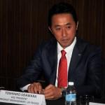 Toshihiko Odawara, Vice President, Product Management, UD Trucks, Croner Launch Malaysia 2017