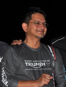 Dato Razak al-Malique, COO Fast Bikes Sdn Bhd, Triumph Street Triple Malaysia Launch