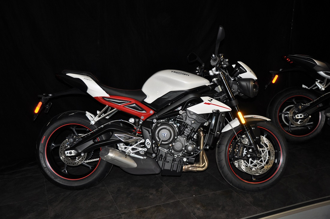 triumph launches 3 variants of street triple naked motorcycle in malaysia. Black Bedroom Furniture Sets. Home Design Ideas