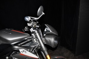 Triumph Street Triple RS Front Side View, Malaysia 2017