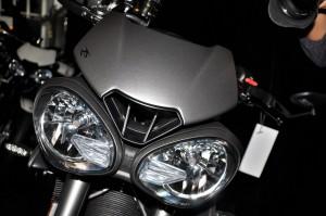 Triumph Street Triple RS Headlights Close Up Malaysia 2017