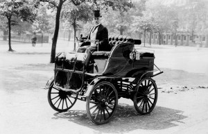 Early Electric Automobile - Copy