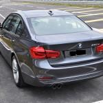 BMW 330e Plug-In Hybrid Rear View Malaysia