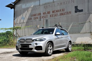 BMW X5 xDrive40e Plug-In Hybrid Front View Malaysia