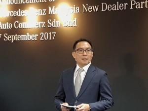 Mercedes-Benz Auto Commerz Autohaus Malaysia, Dealer Principal Eric Khoo