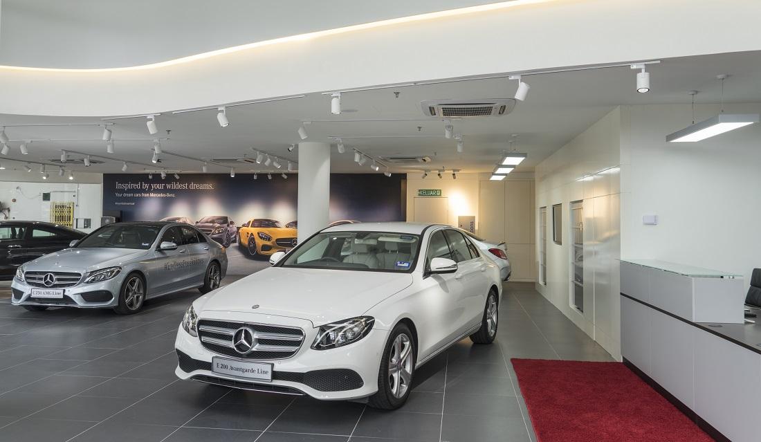 New dealer group enhances sales service network for for Mercedes benz of cincinnati new dealership