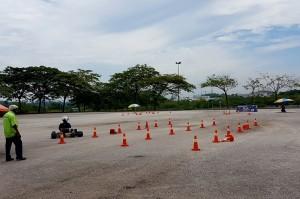 Malaysia Autoshow Slalom Karting Test Drive 2017