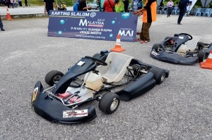 Slalom Karting Malaysia Autoshow 2017