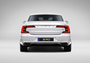 Volvo S90 T8 Twin Engine Inscription Rear View