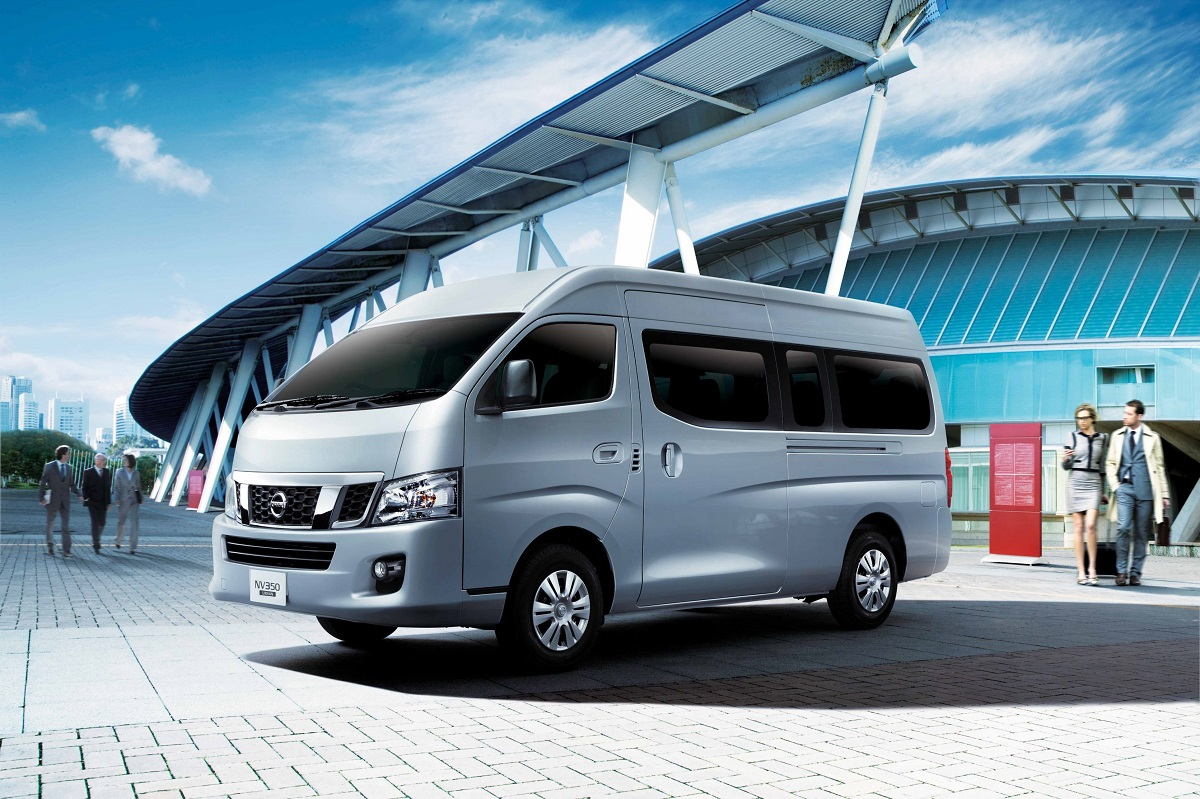 nissan nv350 urvan updated with new safety features for malaysia rh autoworld com my Nissan Elgrand Nissan NV200
