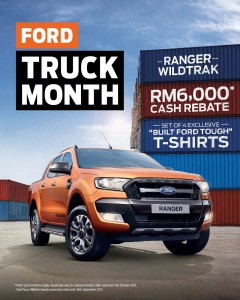 Ford Truck Month_Ford Ranger, Malaysia 2017