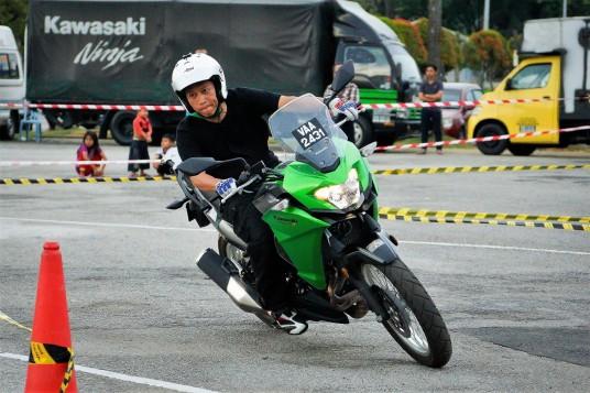 Kawasaki Test Ride Roadshow In Johor Bahru