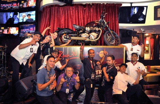 Win Yourself A Triumph Bonneville Bobber Motorcycle From Hard Rock Hotel Penang