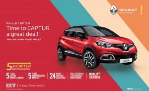 RENAULT CAPTUR 5inCaptur Promo Malaysia 2017