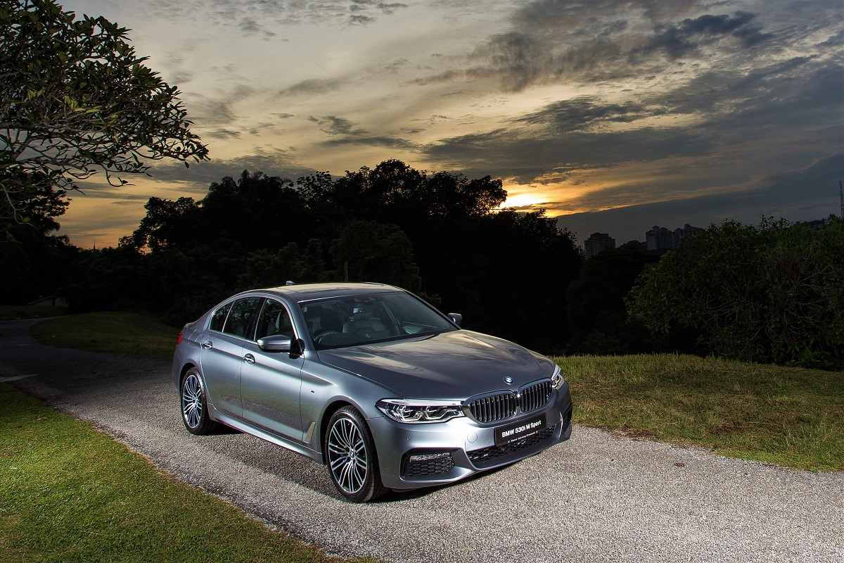 new locally assembled bmw 530i m sport launched in malaysia. Black Bedroom Furniture Sets. Home Design Ideas