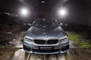 BMW 530i M Sport Front Malaysia 2017