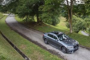 BMW 530i M Sport Outdoors, Malaysia 2017