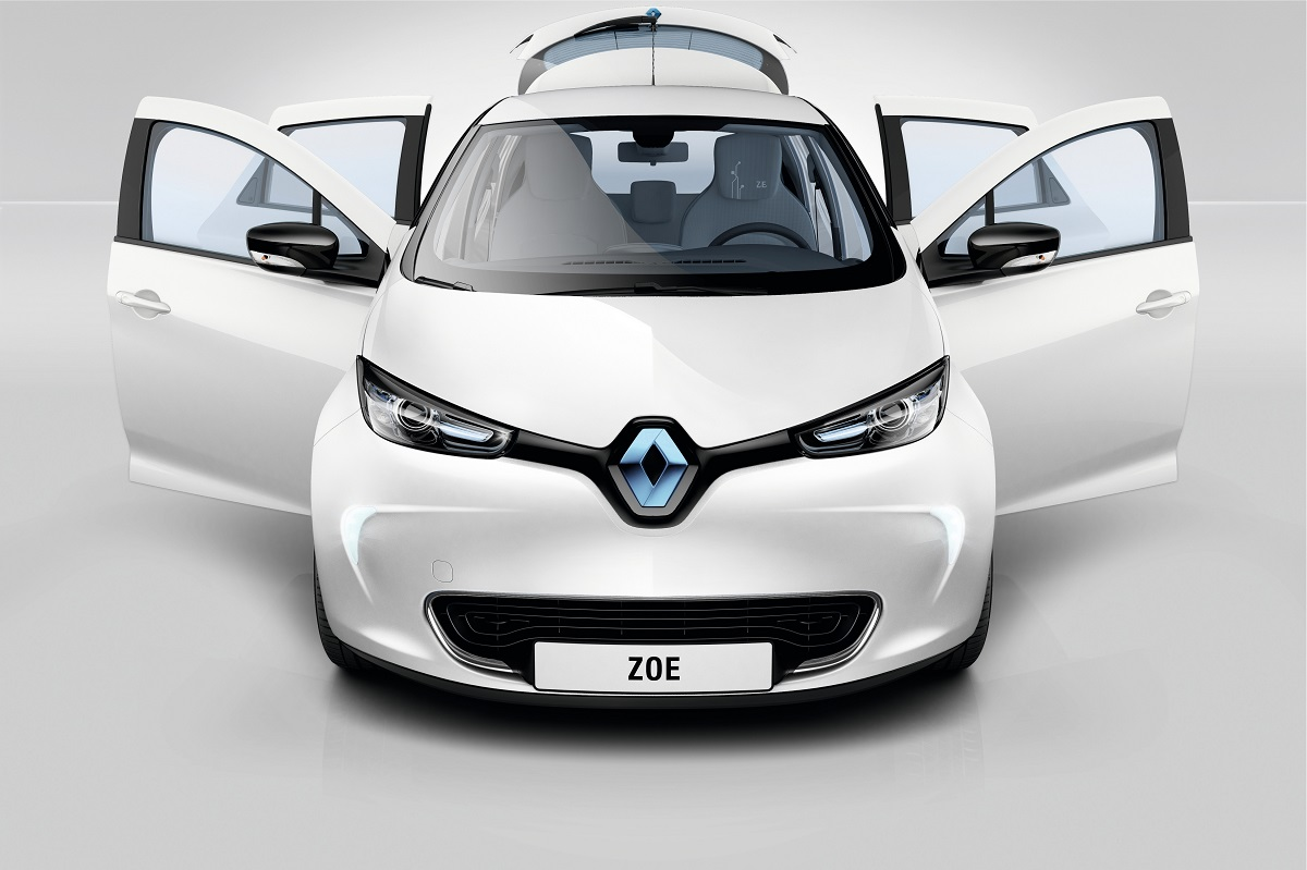 Tc Euro Cars Promotion For Renault Zoe Electric Vehicle