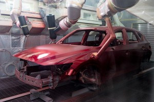Mazda Kulim Plant New Paint Shop, CX-5 Soul Red Crystal Malaysia