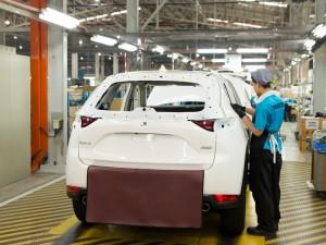 05_Mazda Kulim Plant_inspection process_01 - CX-5 Malaysia 2017