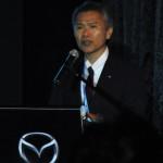 Masatoshi Maruyama, Mazda's Managing Executive Officer, Global Production  & Business Logistics