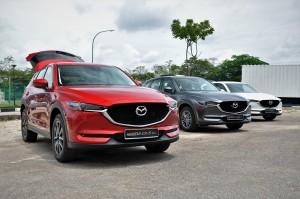 Mazda CX-5 Range, Kulim Malaysia, Roll Out 2017