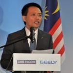 Dr Li Chunrong Proton CEO, Zhejiang Geely