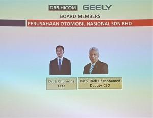 Proton CEO and Deputy CEO 2017