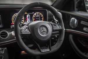 Mercedes-AMG E 63 s 4MATIC+ (33) Edition 1 Steering Wheel - Malaysia 2017
