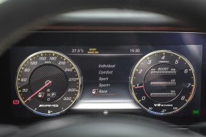 Mercedes-AMG E 63 s 4MATIC+ (16) Instrument Cluster - Malaysia 2017