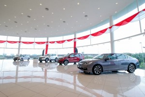 02_1 Botanic Auto Mall Honda 3S Centre has the biggest total build-up area in Central region at almost 72,000 square feet - Malaysia 2017