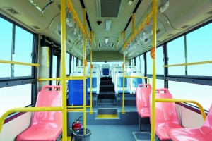 Go Auto Higer Electric Bus Interior
