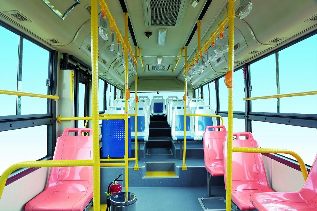 Higer Go Auto Electric Bus Interior