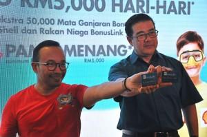 Shell BonusLink Menang RM5000 Hari-Hari Contest 2017