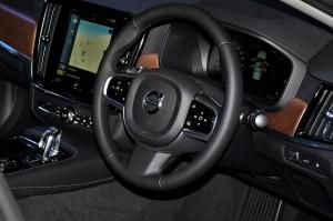 Volvo S90 T8 Inscription Steering Wheel IGEM 2017 Malaysia