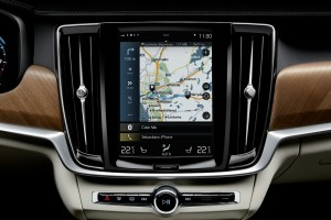 Volvo S90 T8 Center Display