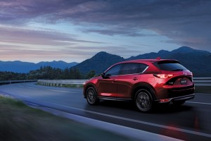 Mazda CX-5-Rear Quarter-Night - Malaysia 2017