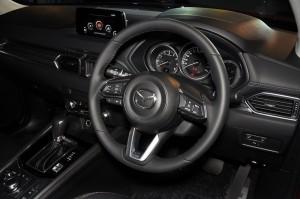 Mazda CX-5 Cockpit, Steering Wheel - Malaysia 2017