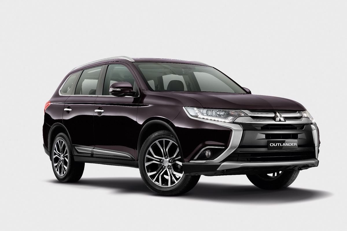 locally assembled mitsubishi outlander 2 0 suv now available. Black Bedroom Furniture Sets. Home Design Ideas